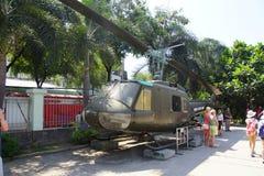 美国UH-1 Huey直升机 库存照片