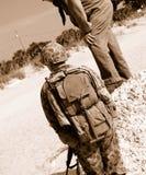 美国WWII战士 免版税库存照片