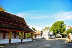 美好寺庙的法院 免版税库存图片
