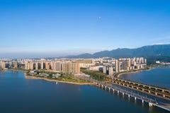 美好的九江都市风景 库存图片