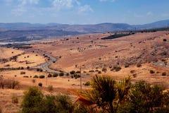 美好的乡下风景,提比里亚,以色列 图库摄影