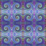 美好的五颜六色的波动图式 库存例证