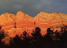 美好的亚利桑那山景 免版税库存图片