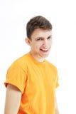 美好的人微笑 免版税库存图片