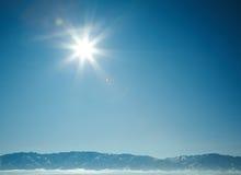 美好的冬天 库存照片