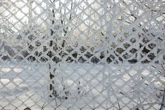 美好的冬天landscape.3d图象 库存照片
