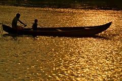 美好的划船 免版税库存照片