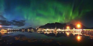 美好的北极光 免版税库存图片