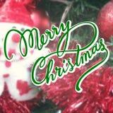 美好的圣诞快乐行情 库存照片