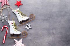 美好的圣诞节例证担任主角向量 新年题材背景 免版税库存图片