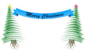 美好的圣诞节例证结构树向量 免版税图库摄影