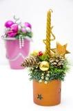 美好的圣诞节装饰和平 免版税库存照片