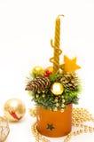 美好的圣诞节装饰和平 库存照片