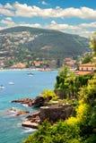 美好的地中海横向 免版税库存照片
