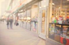 美好的城市街道背景 免版税图库摄影