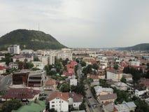 美好的城市视图 免版税库存照片
