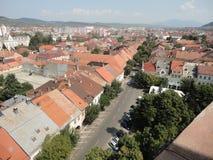 美好的城市视图 库存照片