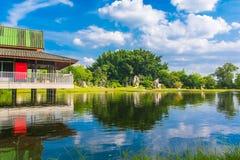 美好的夏天自然风景 免版税图库摄影