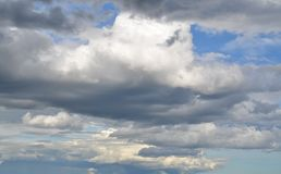 美好的夏天cloudscape 库存照片