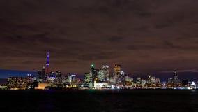 美好的多伦多地平线-多伦多,安大略,加拿大 免版税库存照片
