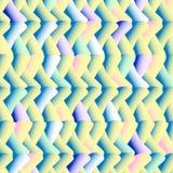 美好的多彩多姿的幻觉三维样式 库存图片