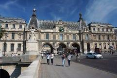 美好的天在巴黎 库存照片