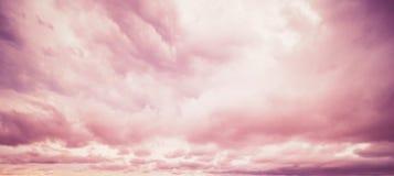 美好的天空早晨 免版税库存照片