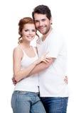 美好的夫妇愉快的年轻人 库存照片