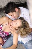 美好的夫妇爱 图库摄影