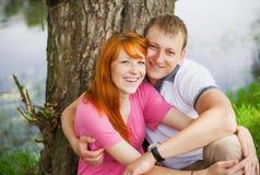 美好的夫妇爱 库存图片
