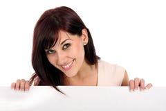 美好的女孩介绍 免版税库存图片