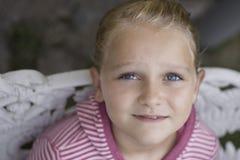 美好的女孩portrait 免版税库存照片