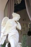 年轻美好的女性天使 免版税库存照片