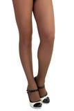 美好的女性腿 免版税库存照片