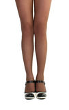 美好的女性腿 免版税库存图片