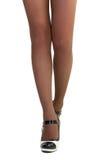 美好的女性腿 库存图片
