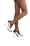 美好的女性腿 图库摄影