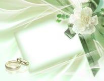 美好的婚礼背景 免版税库存照片