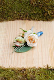 美好的婚礼花bonbonniere 免版税图库摄影