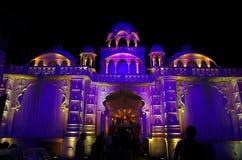 美好的宫殿庆祝照明设备II 免版税图库摄影