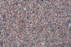 美好的小卵石墙壁背景 免版税图库摄影