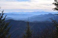 美好的山景 图库摄影