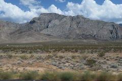 美好的山横向 库存图片