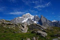 美好的山风景 图库摄影
