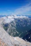 美好的山风景 库存图片