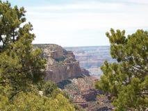 美好的开放峡谷视图 免版税库存照片