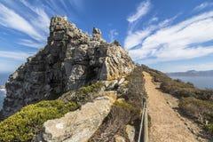 美好的开普角风景在南非 免版税库存图片