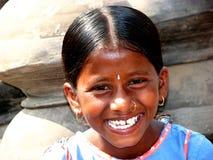 美好的微笑 免版税库存图片