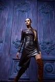 美好的性感的妇女收藏给企业时尚样式穿衣 免版税图库摄影