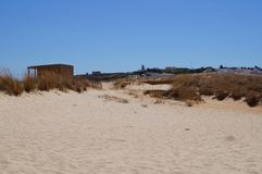 美好的旅行在葡萄牙-在葡萄牙南部值得它!欧洲 免版税库存照片